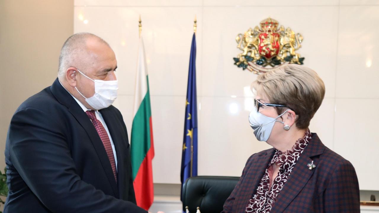 Бойко Борисов се срещна с посланика на Руската федерация Елеонора Митрофанова