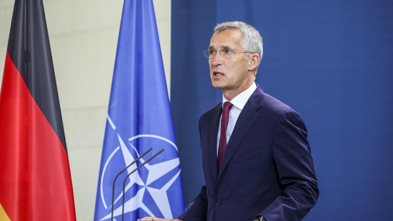 """Столтенберг: По въпроса за """"Северен поток 2"""" няма обща позиция в НАТО"""