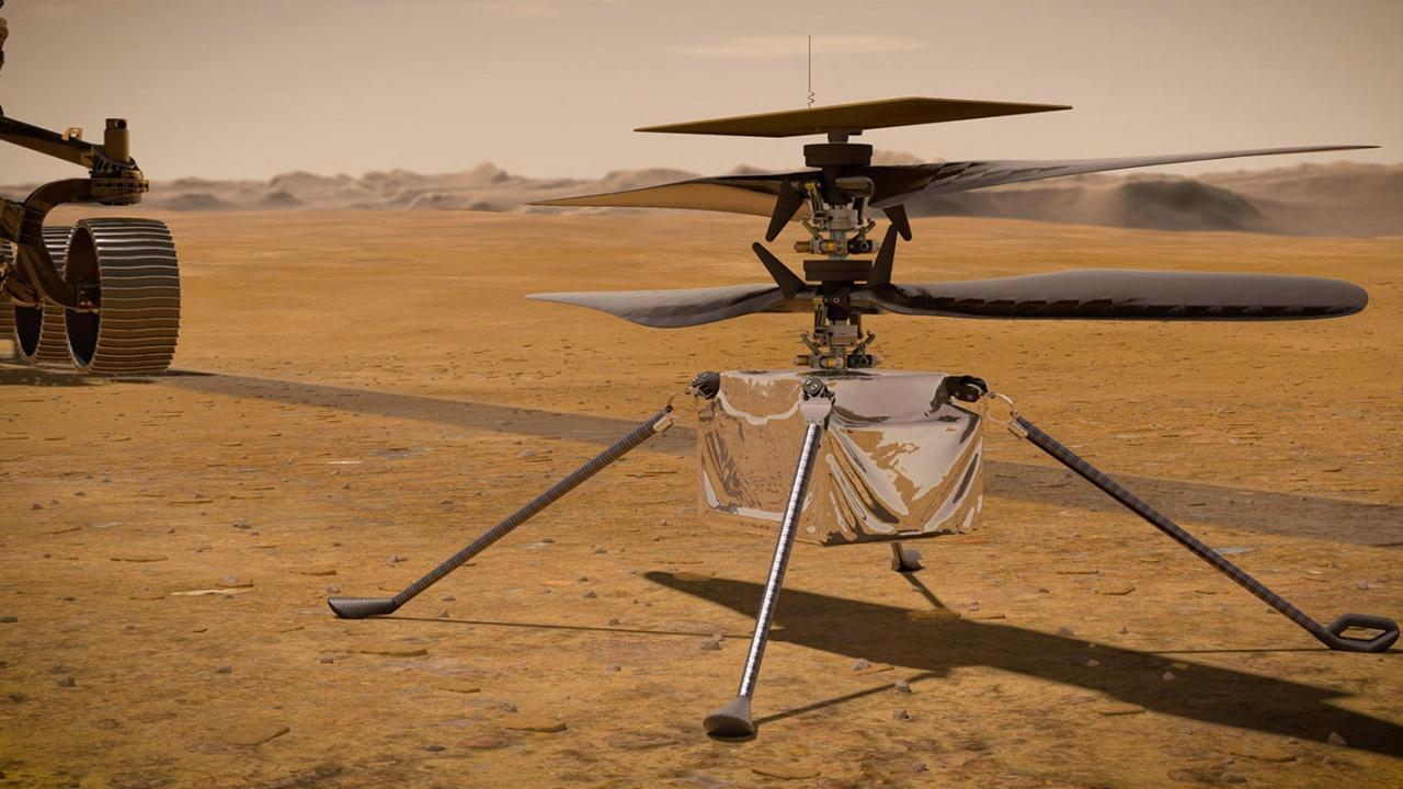 НАСА показа хеликоптер, който ще лети на Марс