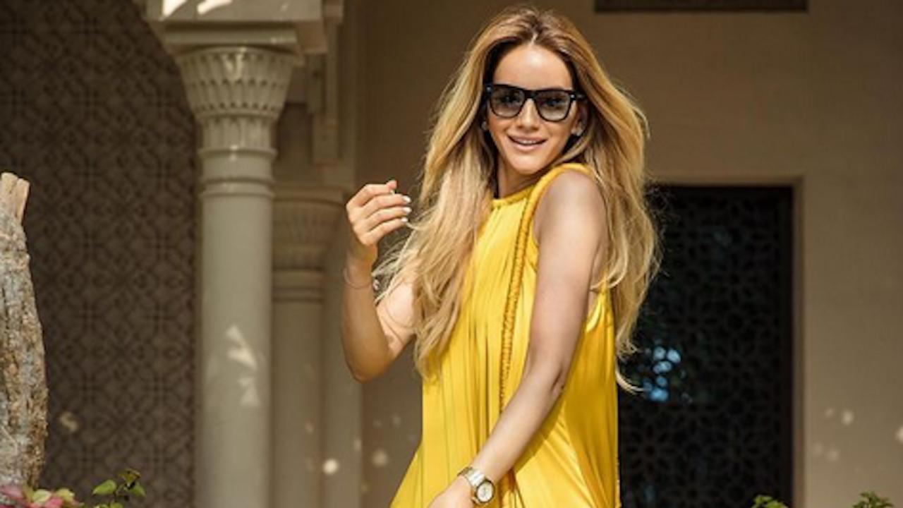 Зайнеб изглежда като топ принцеса в Дубай