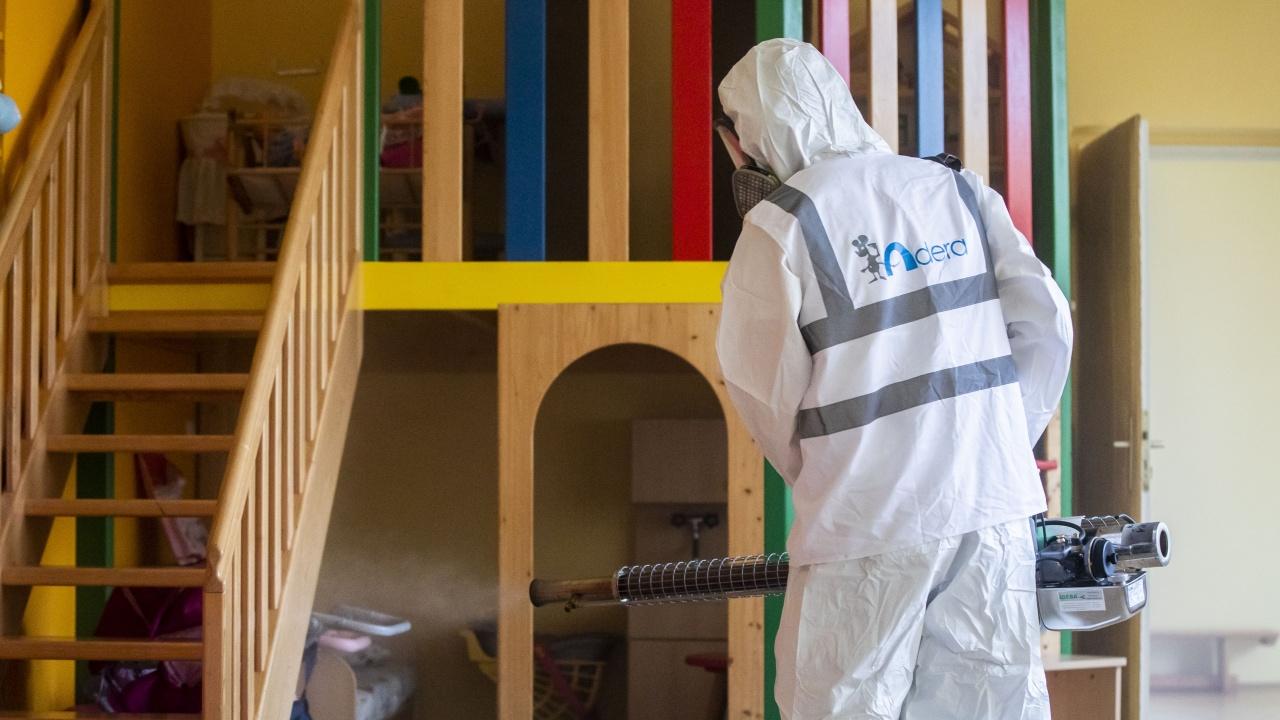 В сградите на детските заведения в Добрич започва обработка срещу вируси с нанотехнология