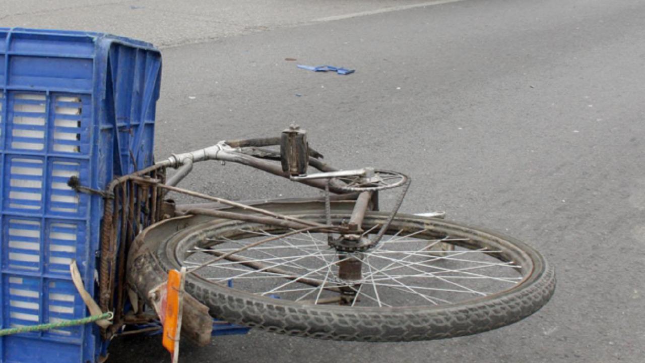 Велосипедист изскочи пред кола и пострада
