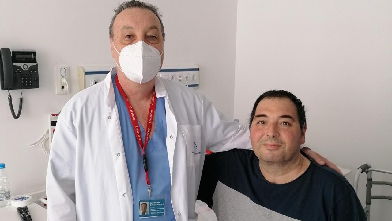 Полицай оцеля след 50 дни на апаратна вентилация