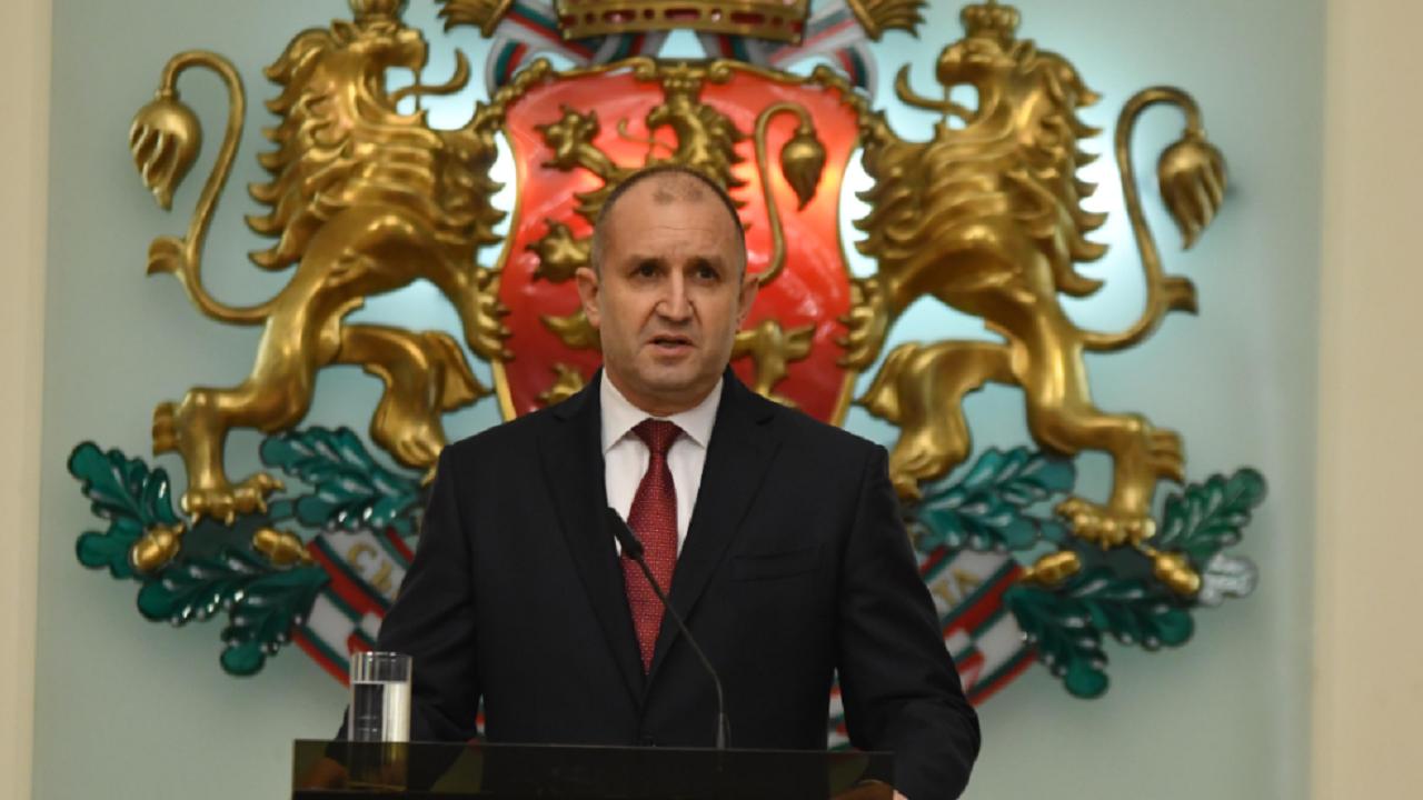 Румен Радев поздрави българските творци по случай Международния ден на театъра