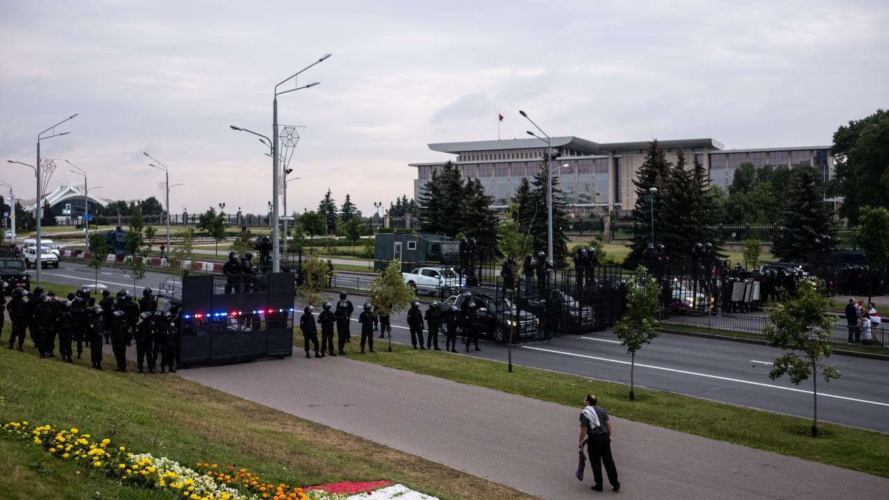Над 170 задържани на антиправителствени протести в Беларус