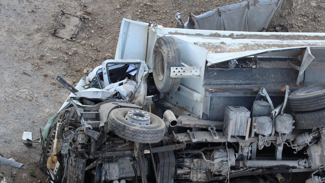 Тежка катастрофа блокира движението по главния път София - Варна край Търговище