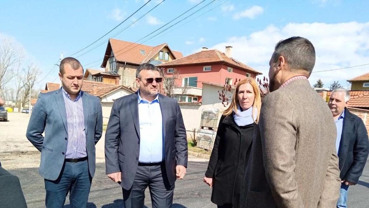 Младен Маринов: Започва ремонтът на пътя Мусачево-Елин Пелин