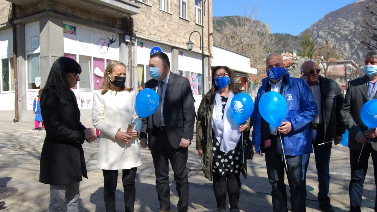 Каназирева в Карлово: Близо до хората и без компромис с обществения интерес – така ще работя за Пловдивска област