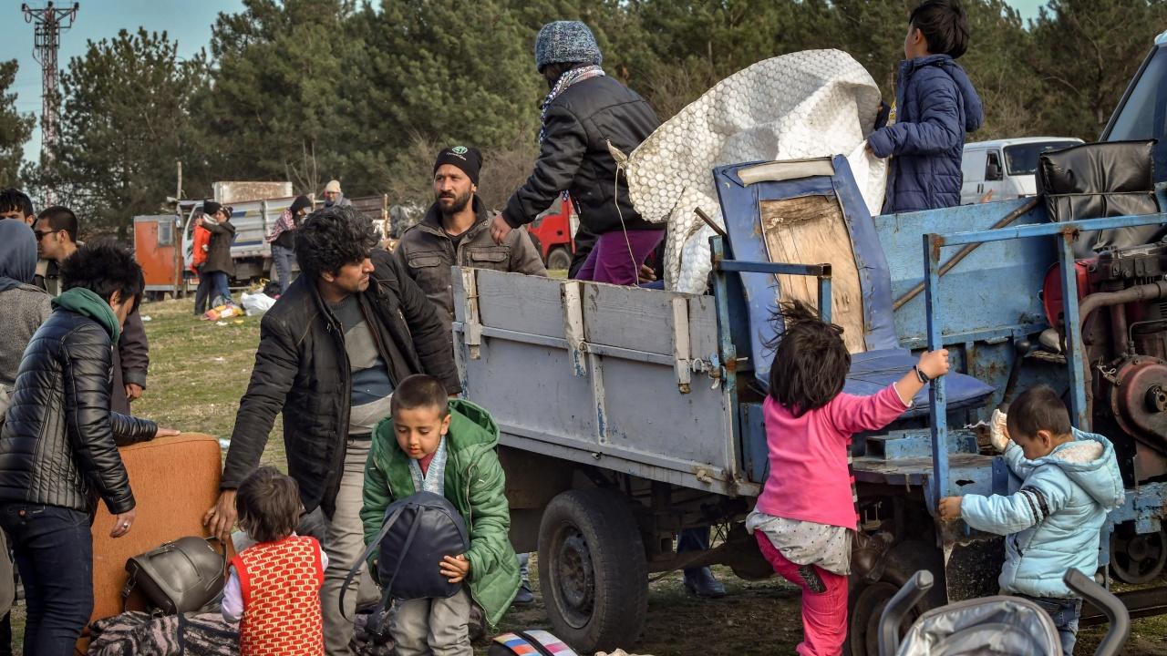 Къде отидоха мигрантите?