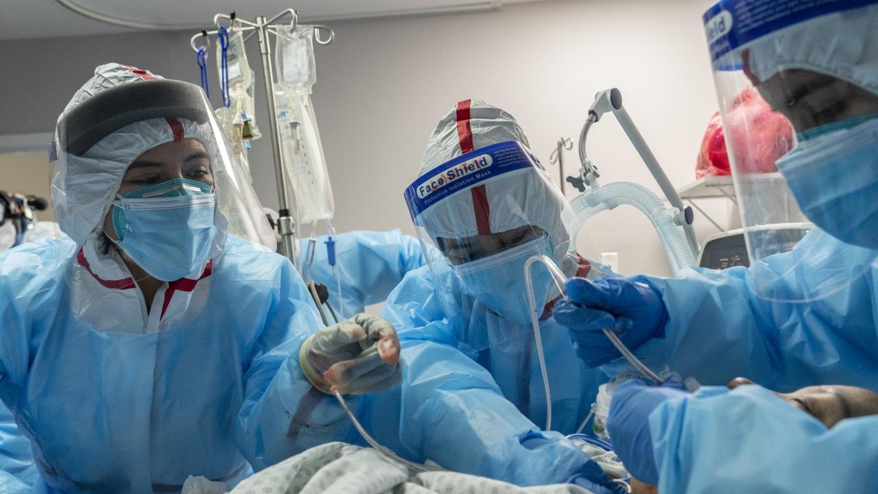 Над 80% от интубираните пациенти с COVID-19 в Бразилия умират