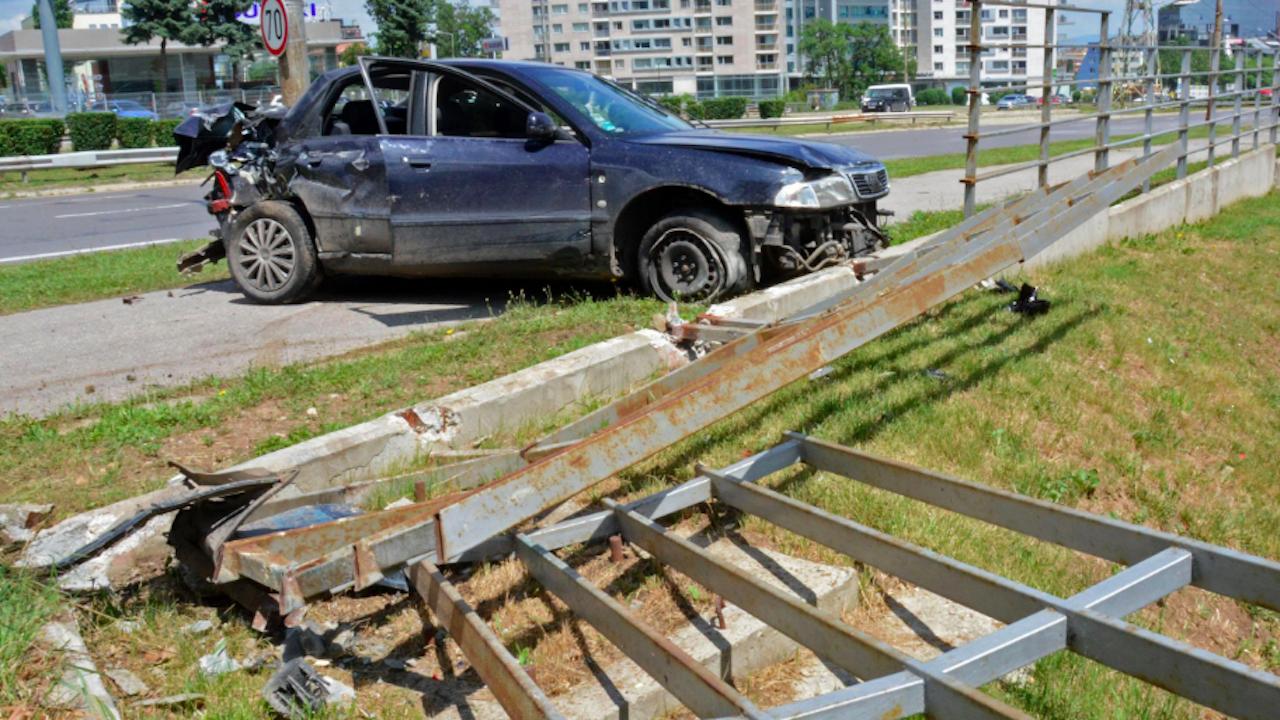 14 тежки катастрофи в страната за денонощие