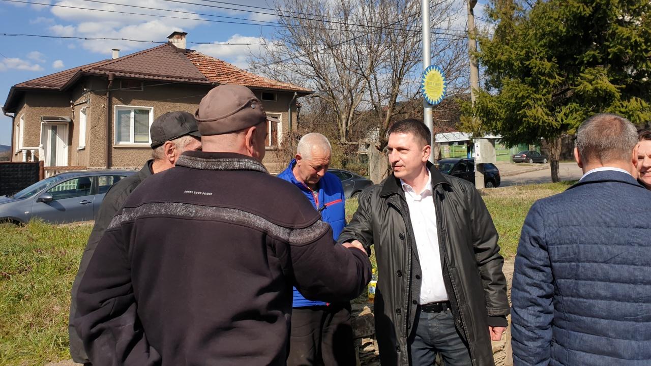Водачът Христо Терзийски и кандидатите на ГЕРБ – СДС се срещнаха с жители на общините Кюстендил и Бобов дол