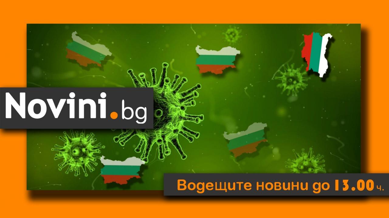 Водещите новини! Още 129 жертви на COVID-19 в България