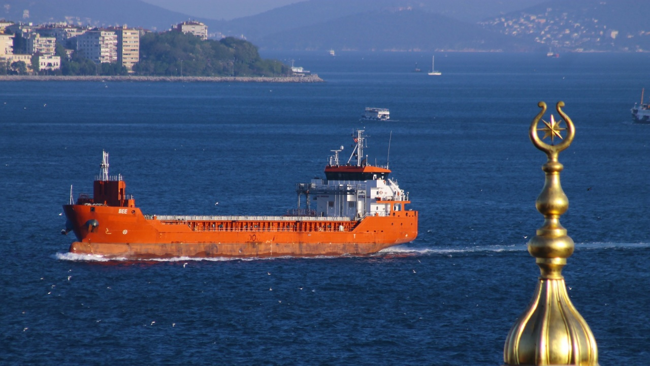 Товарен кораб аварира в Босфора