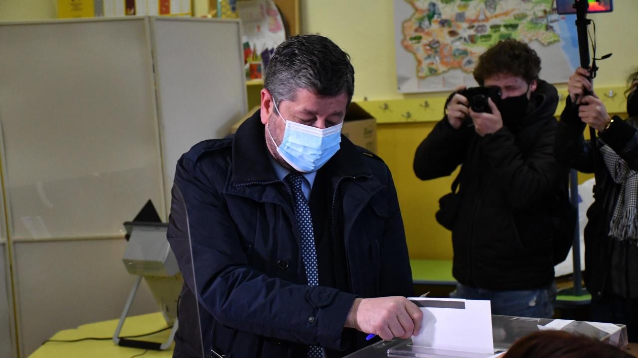 Христо Иванов: Безопасно е! Гласувайте