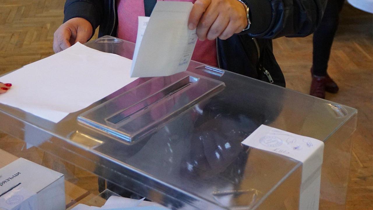 Избирателната активност в Силистренско към 10.00 часа е 8.9 на сто