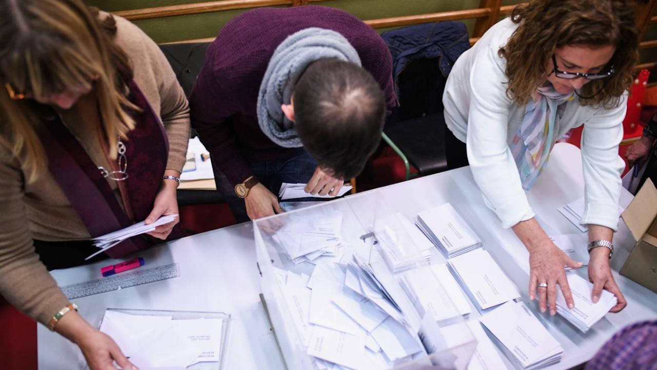 От обявените 6986 кандидати за народни представители в 45-я парламент 2073 са жени, а 4913 са мъже