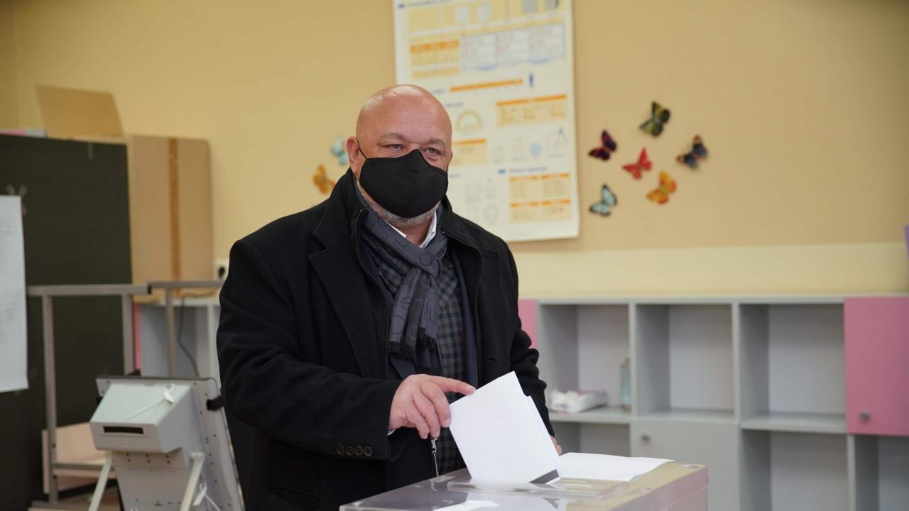 Красен Кралев: Гласувах, за продължим да градим България