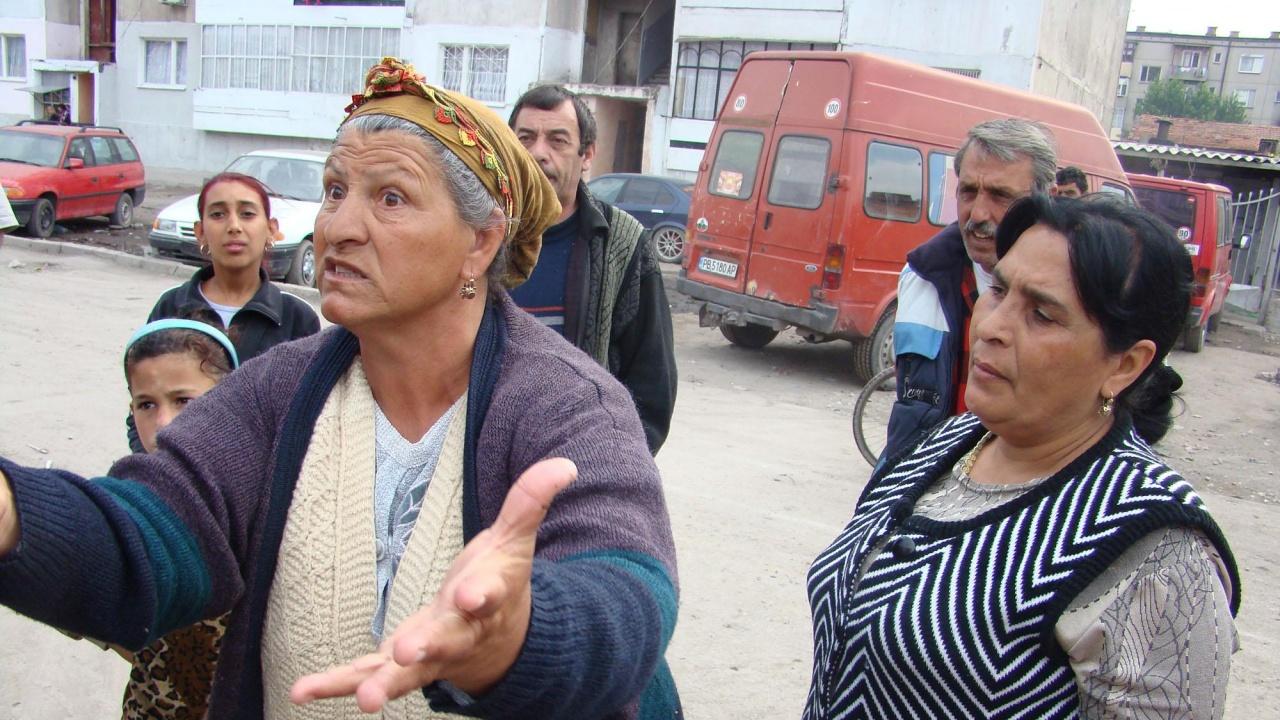 Ромите в Пловдив на сухо за вота
