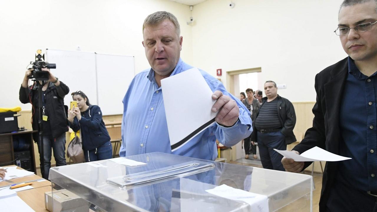 Красимир Каракачанов с първи коментар след предварителните резултати