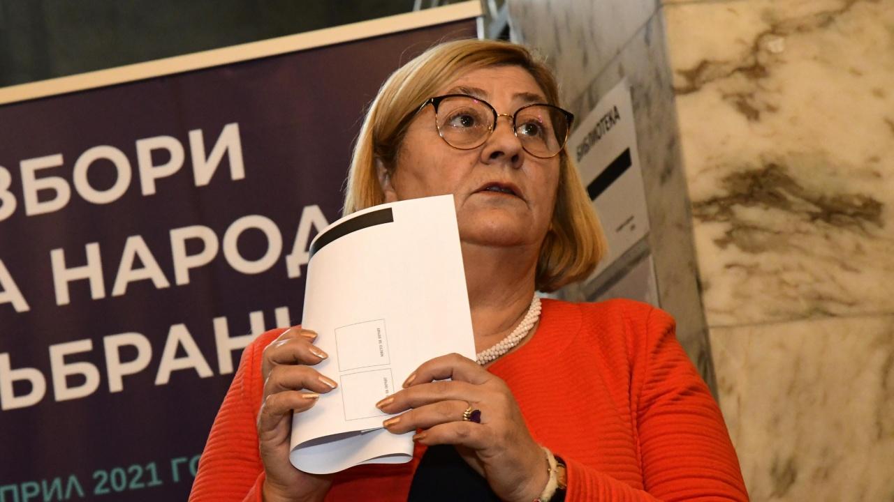 Говорителката на ЦИК: Вотът с машините се оказа предизвикателството в изборния ден