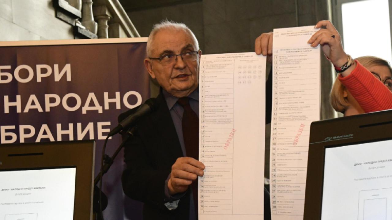 Говорителят на ЦИК с последни данни за изборните протоколи