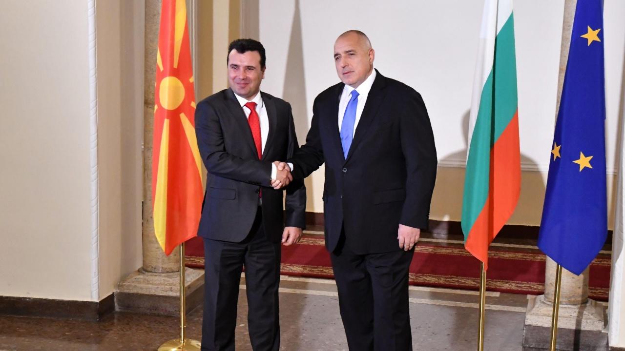 Зоран Заев поздрави Борисов за победата на изборите