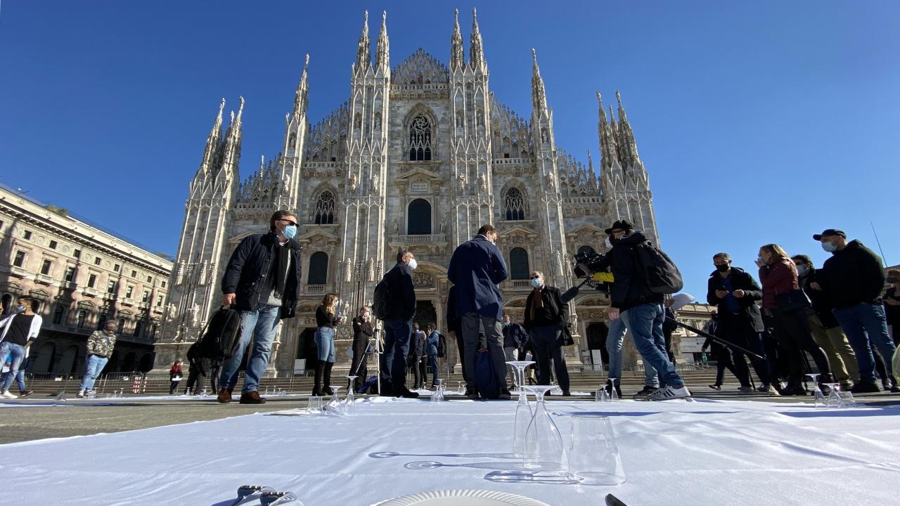 Бизнесът протестира срещу COVID мерките в Италия