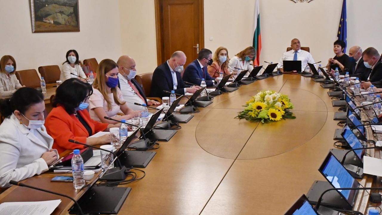 Първо заседание на правителството след изборите