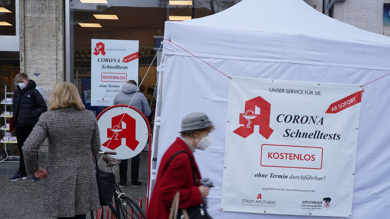 Германия регистрира 20 407 нови случая на коронавирус