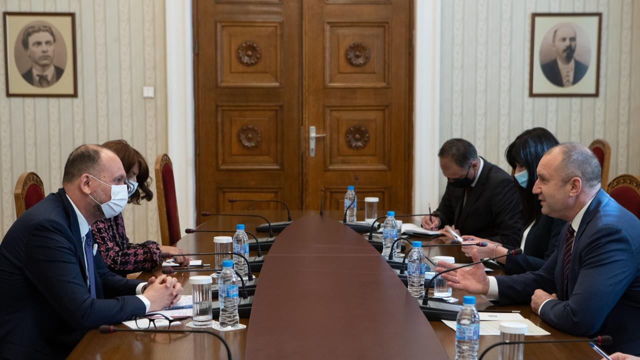 Румен Радев се срещна с постоянния представител на Световната банка у нас