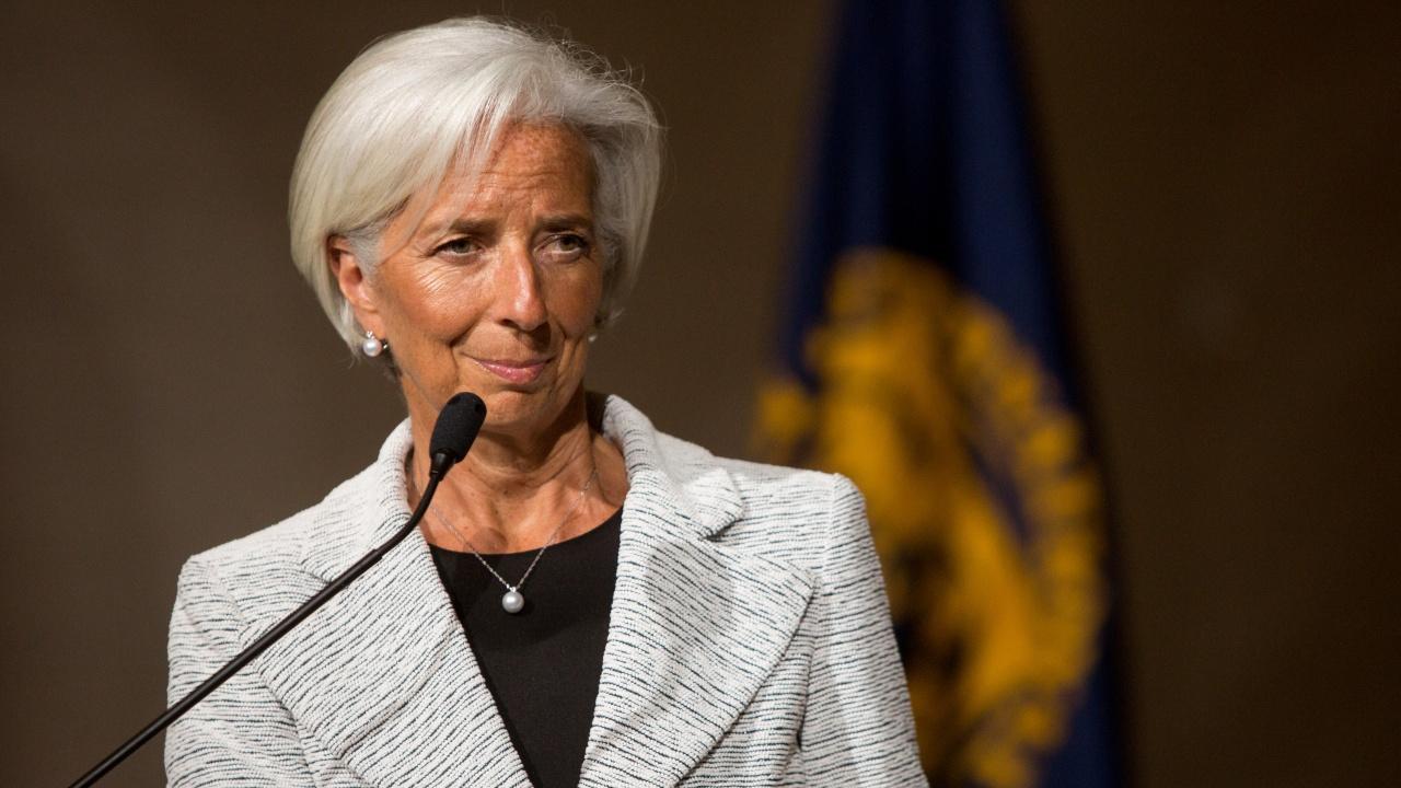 Лагард от ЕЦБ потвърди подобрените глобални икономически перспективи