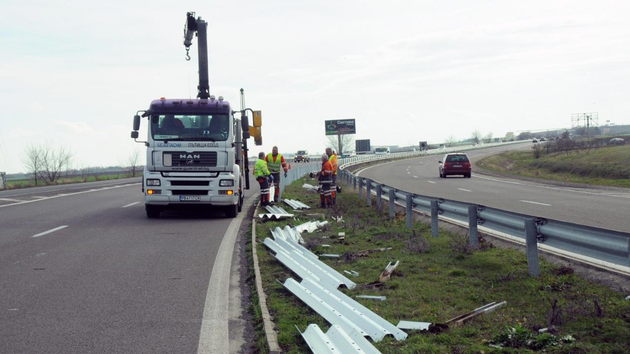 """Ограничават движението на магистрала """"Тракия"""""""