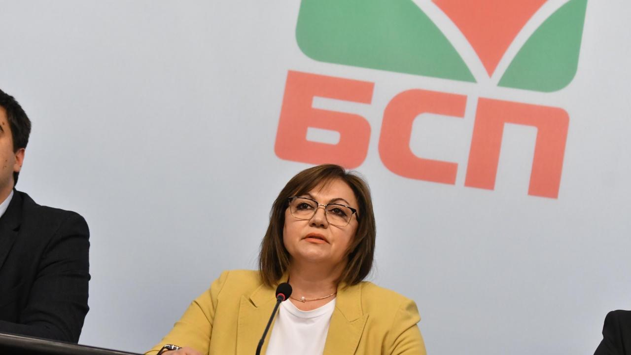 Нинова: Коалиция с ГЕРБ е 150% невъзможна