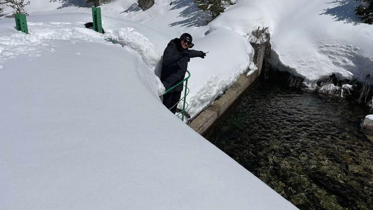 Емил Димитров провери язовири заради очакваното снеготопене