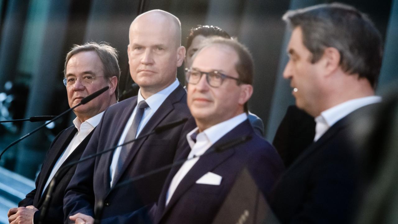 Президиумът на ХДС подкрепи Армин Лашет за кандидат за канцлер на Германия