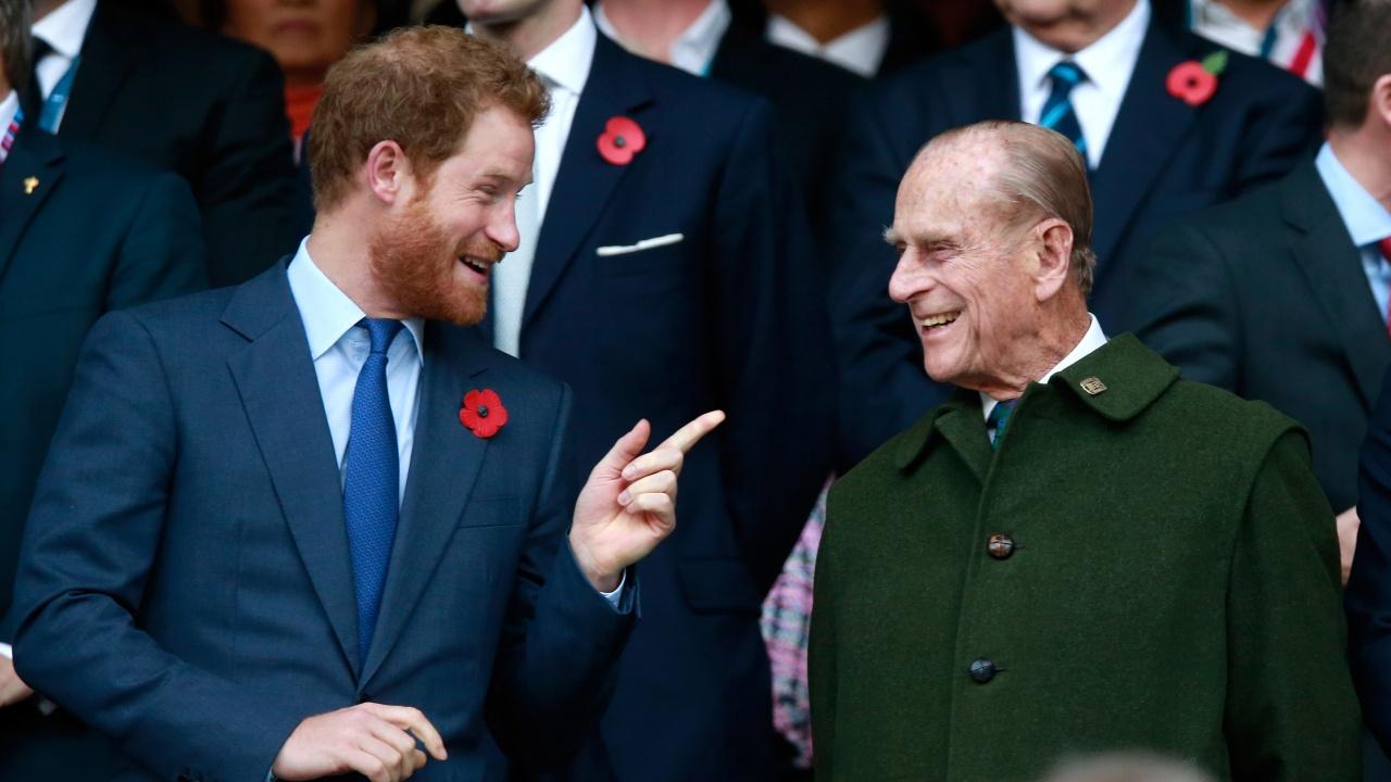 Принц Хари за дядо си: Беше човек на дълга, на честта и голям шегаджия