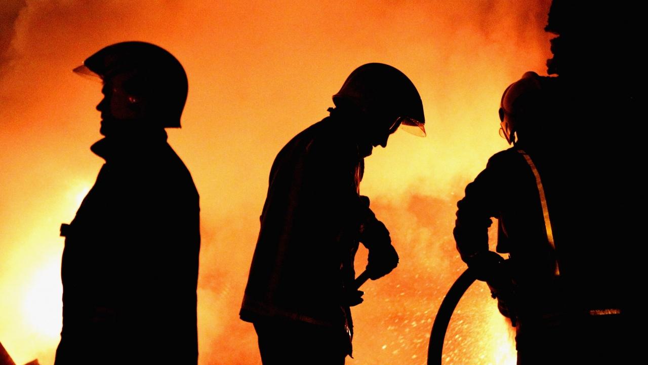 Пожар в историческа сграда в Санкт Петербург