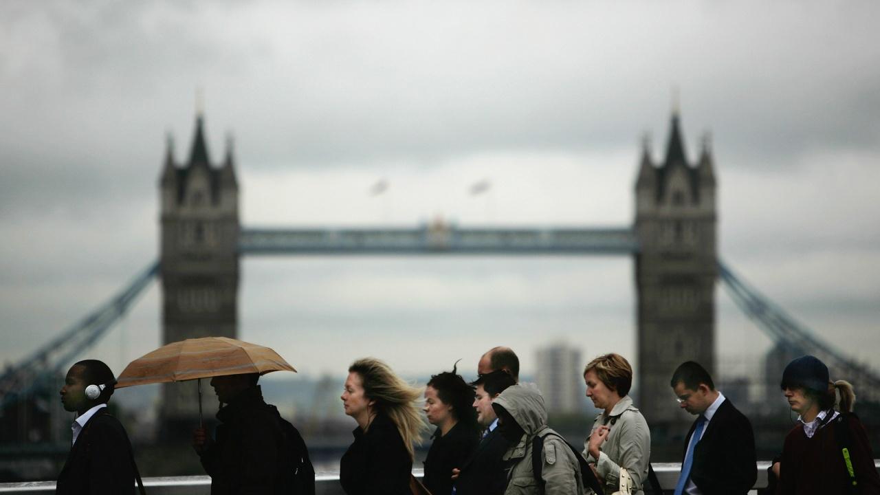 Слабо нарастване на британската икономика през февруари