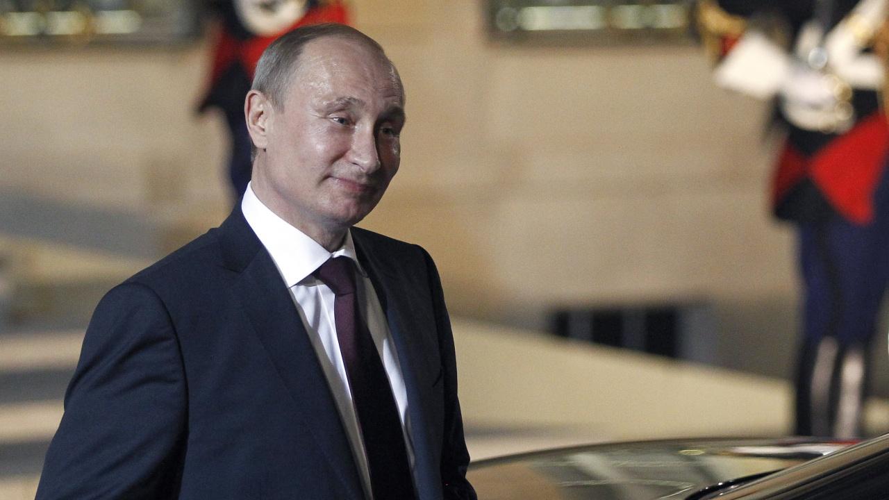 Путин с втора игла