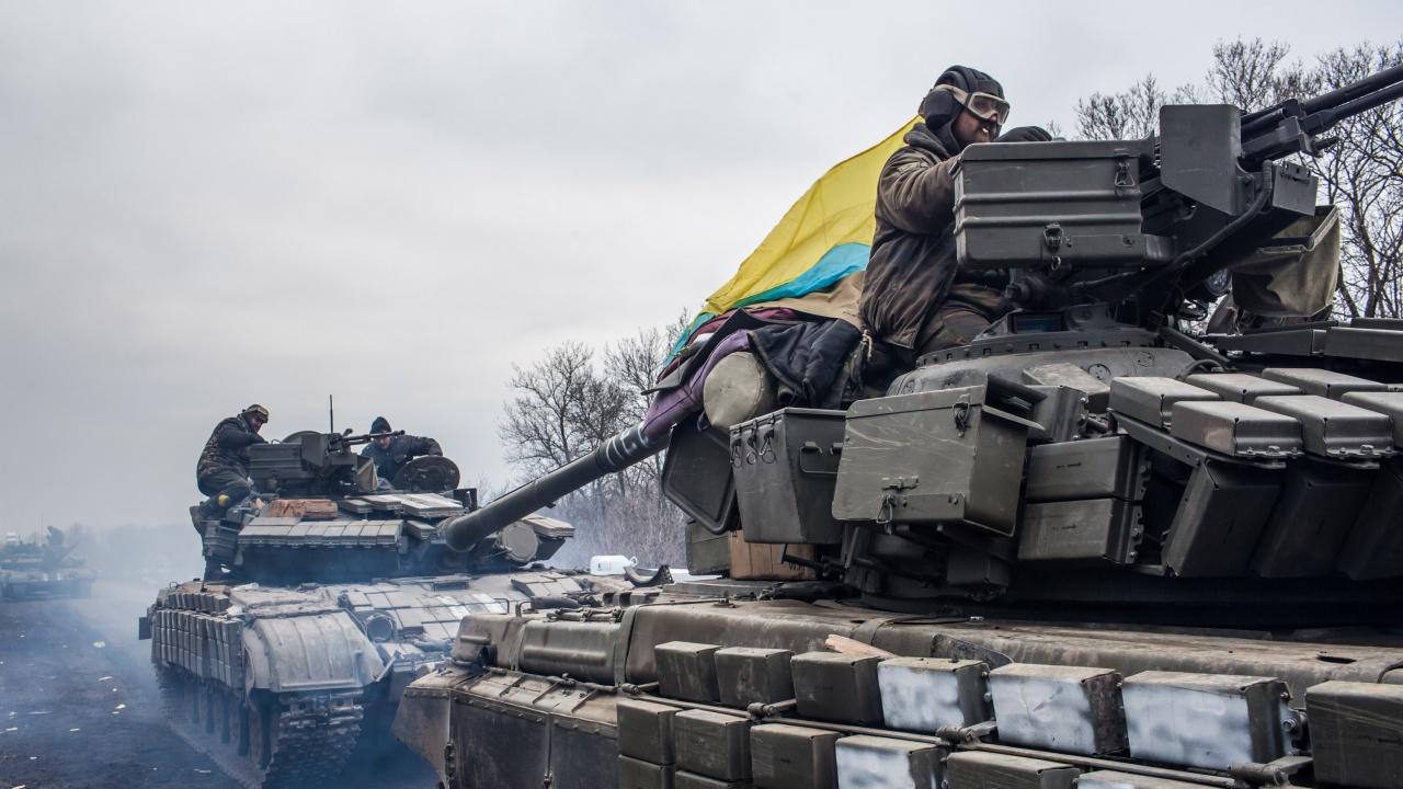 Украйна провежда военно учение близо до Крим