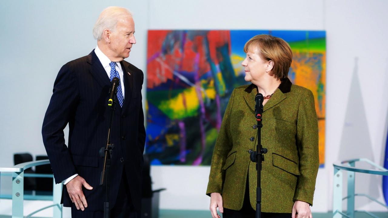 Байдън и Меркел: Русия да изтегли войските си от границата с Украйна