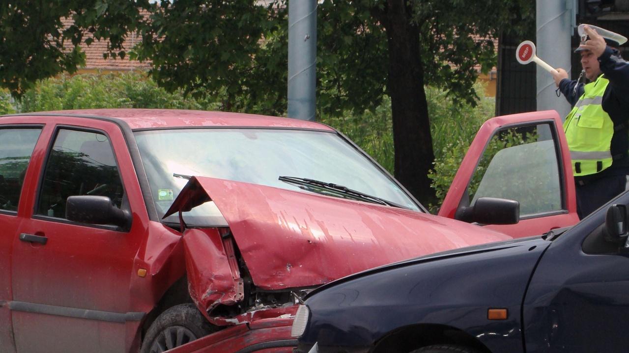 Меле на пътя В. Търново – Русе, има пострадали