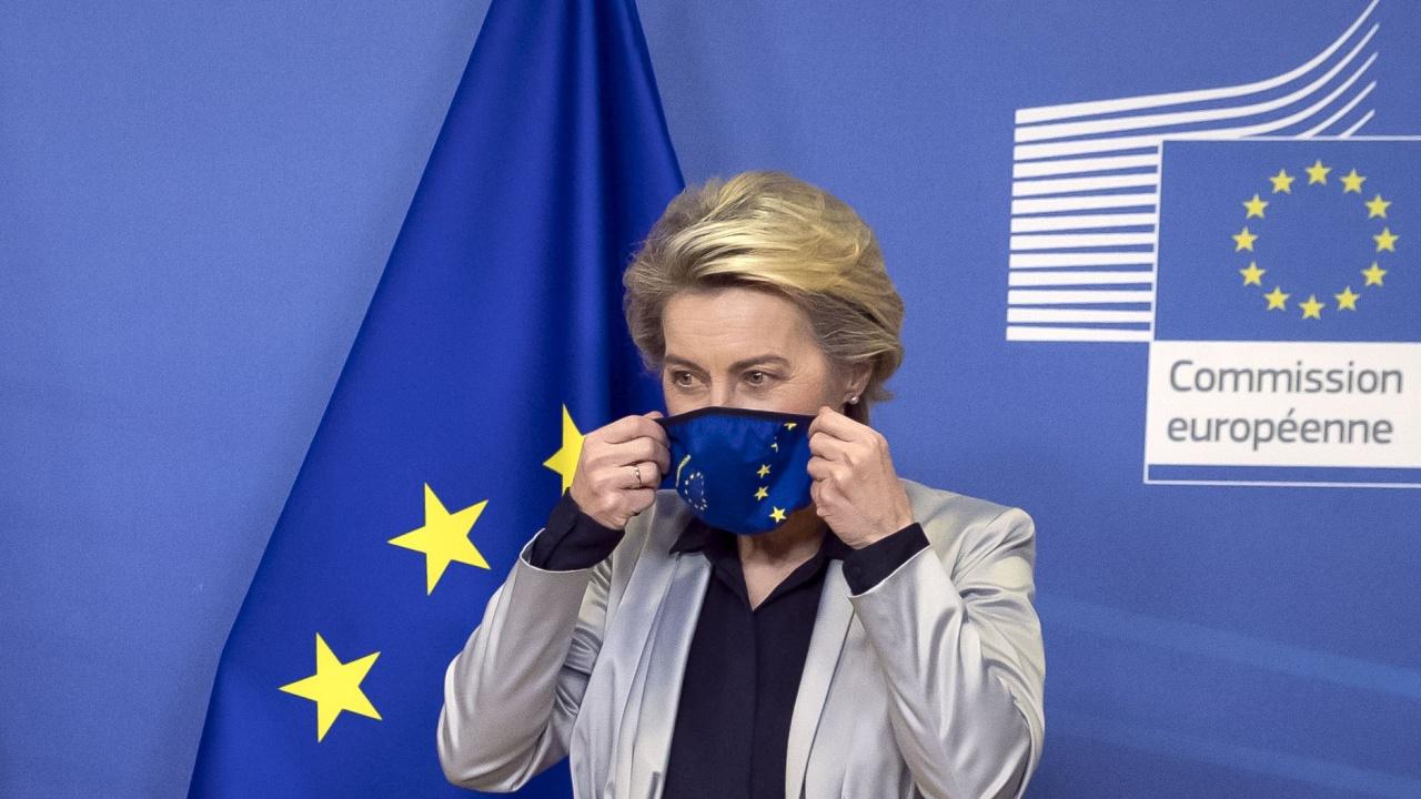 Фон дер Лайен няма да участва в отбелязването на 30-годишнината от независимостта на Украйна