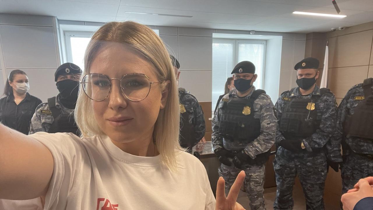 Опозиционерката Любов Собол с условна присъда - обществено полезен труд