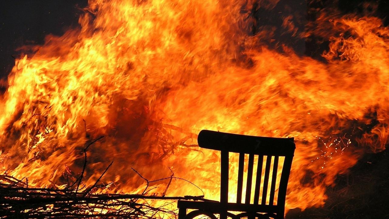 Труп след пожар в село Хаджиите