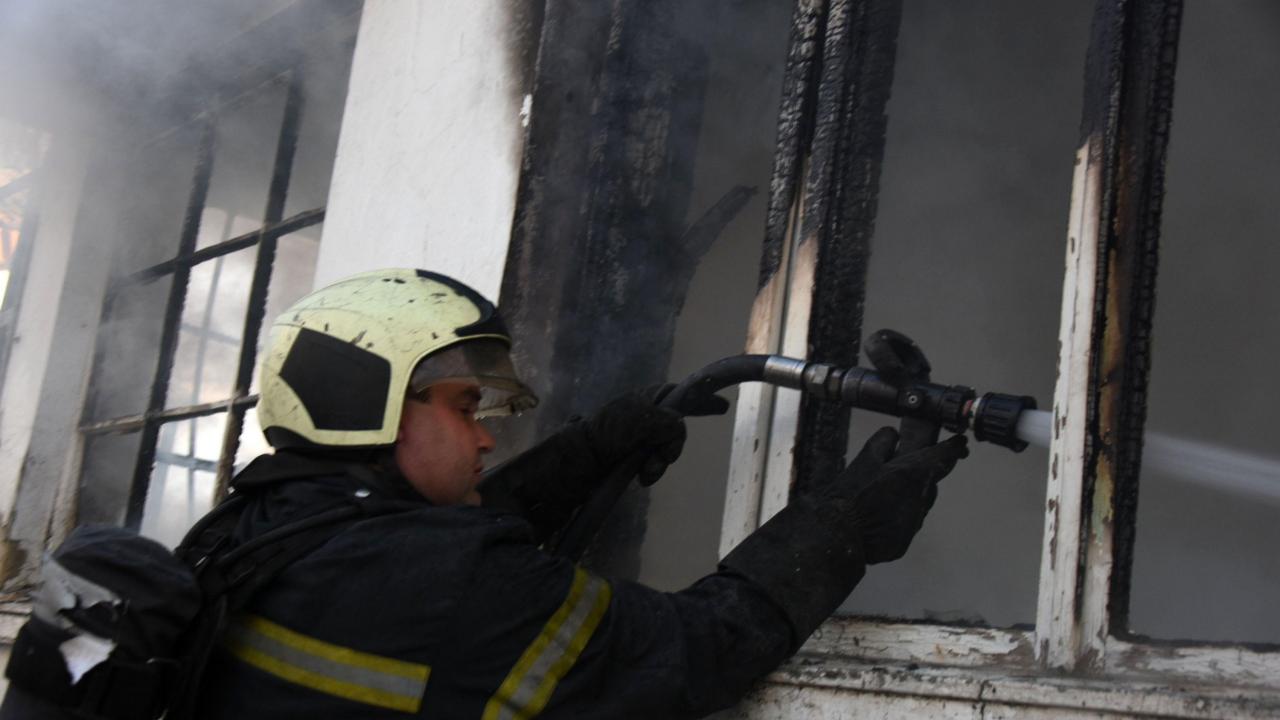 Пожар в шивашки цех край село Осиково