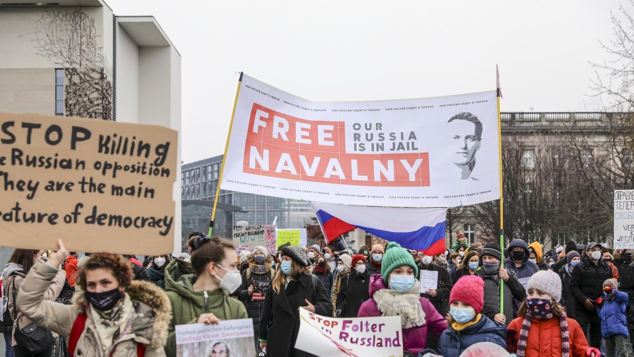Кремъл предупреди руснаците да не излизат на масови протести в подкрепа на Навални