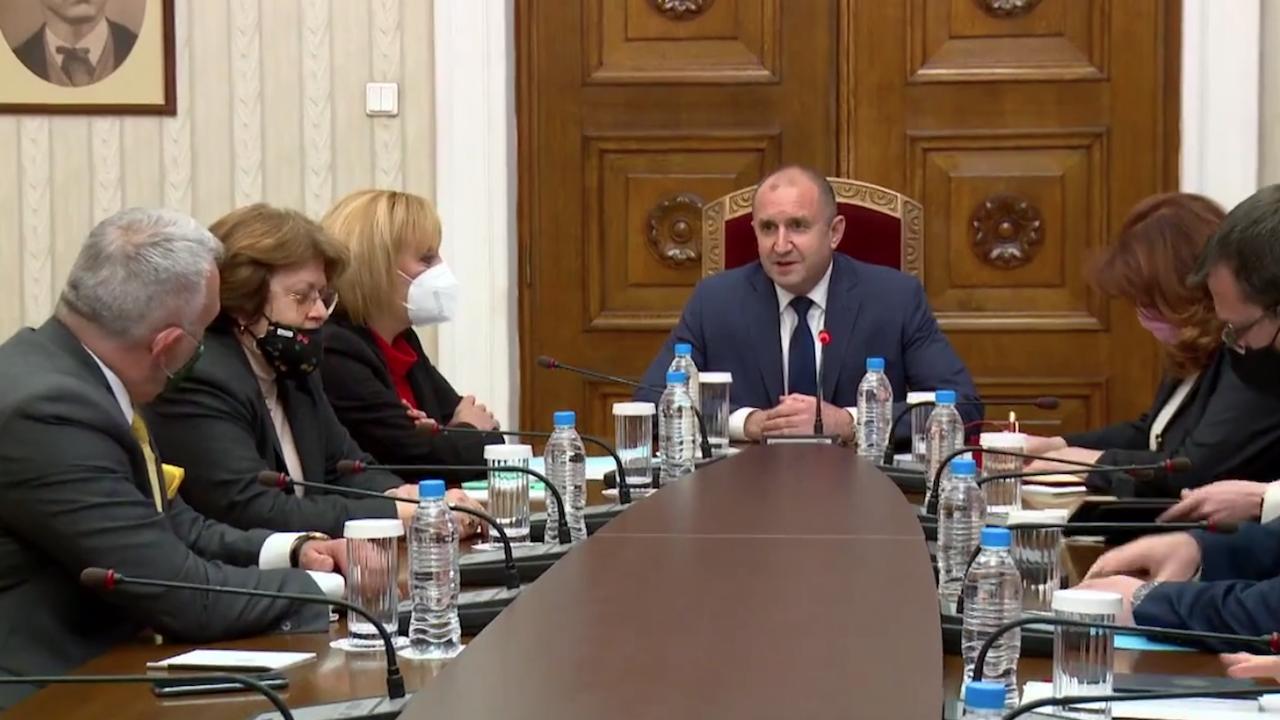 ИСМВ пред президента: Ще подкрепим правителство на промяната