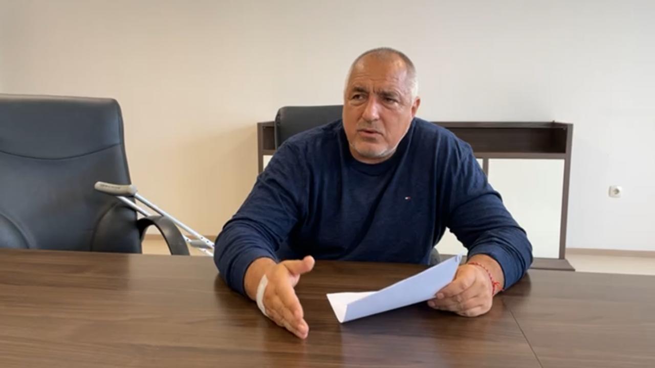 НА ЖИВО: Борисов представя кабинета на ГЕРБ/СДС от болницата, обяви се за Меси и Роналдо в политиката